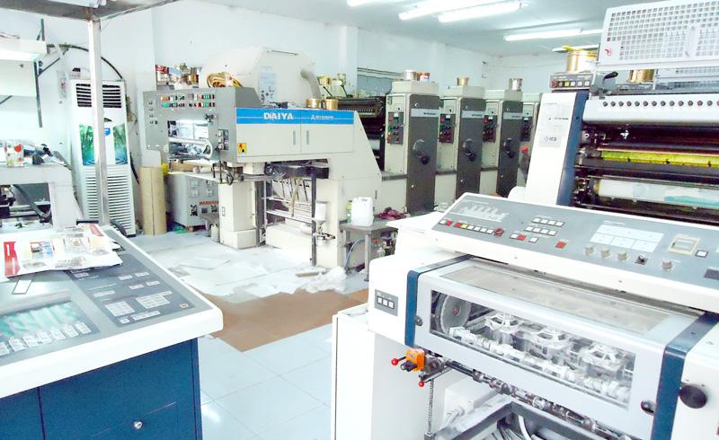 Công nghệ máy móc phục vụ cho in tem bạc tại Minh Hoàng